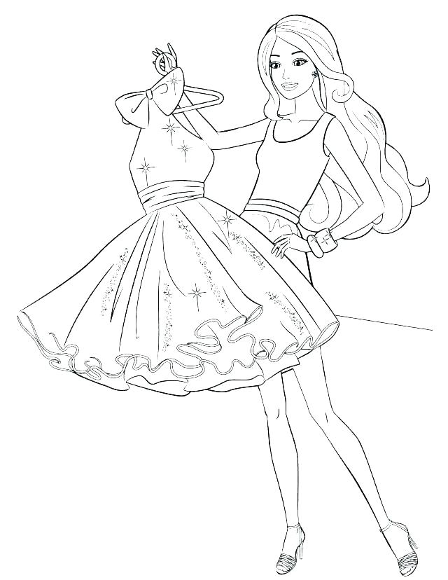640x828 Coloring Pages Of Fashion Clothes Kids Coloring Coloring Pages
