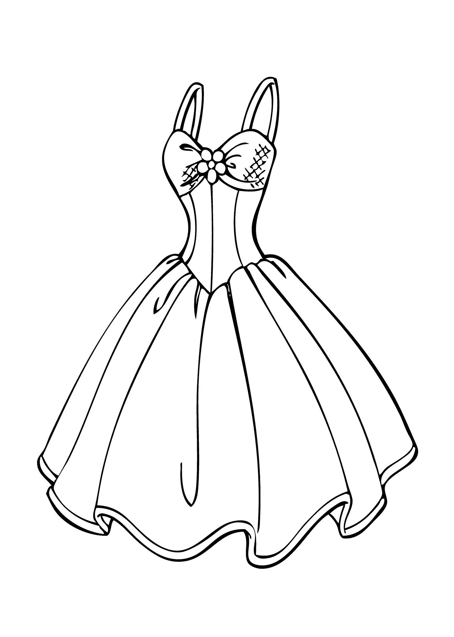 1483x2079 Fashion Clothes Coloring Pages Fashion Ideas