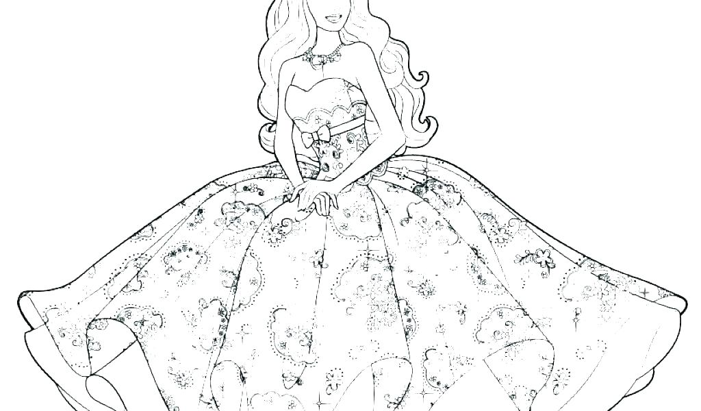 1024x600 Fashion Coloring Pages Fashion Coloring Page Barbie Fashion