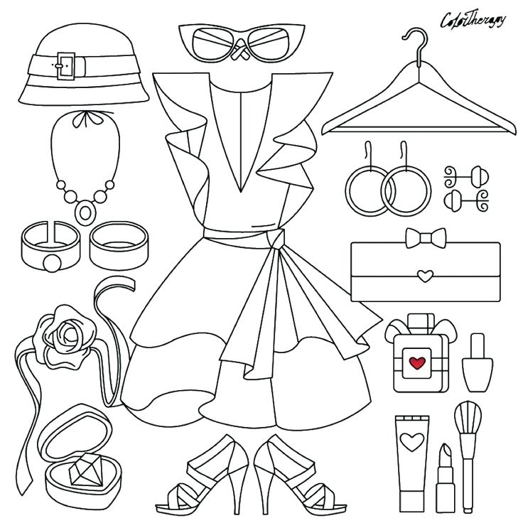 736x736 Fashion Coloring Pages Fashion On Color Therapy App Try This App