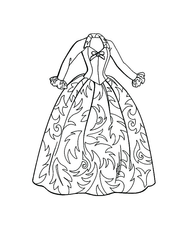 600x800 Barbie Dresses Coloring Pages Barbie Dresses Coloring Pages Nice