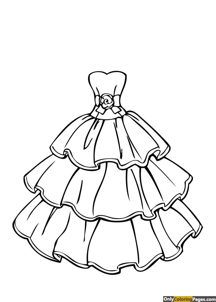 736x1031 Clothes Coloring Pages For Adults Activity Sheets, Colouring