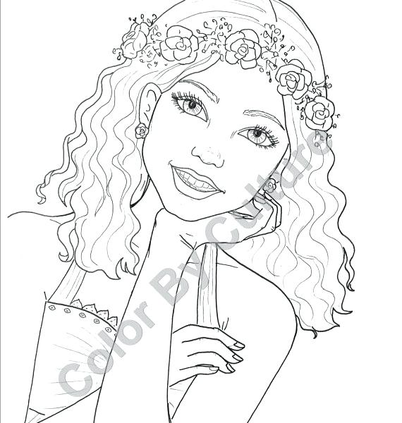 570x600 Fashion Coloring Pages Adult Coloring Fashion Coloring Page
