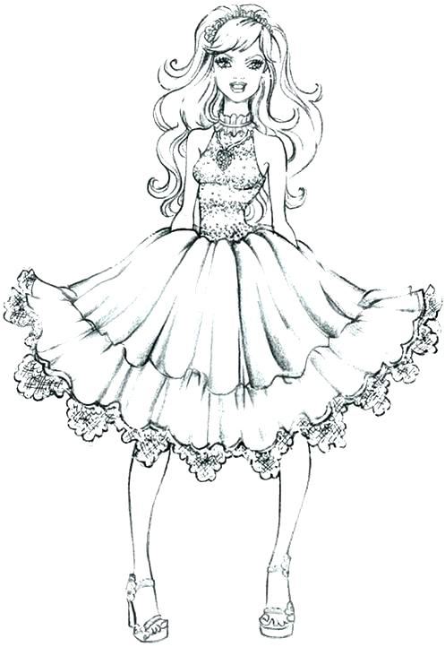 497x722 Fashion Coloring Pages Fashion Design Coloring Pages Fashion
