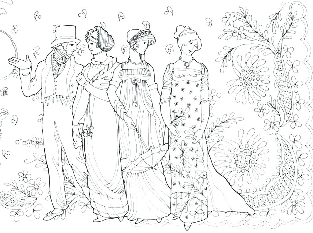 1024x761 Fashion Coloring Pages Mo Fashion Coloring Book For Adult