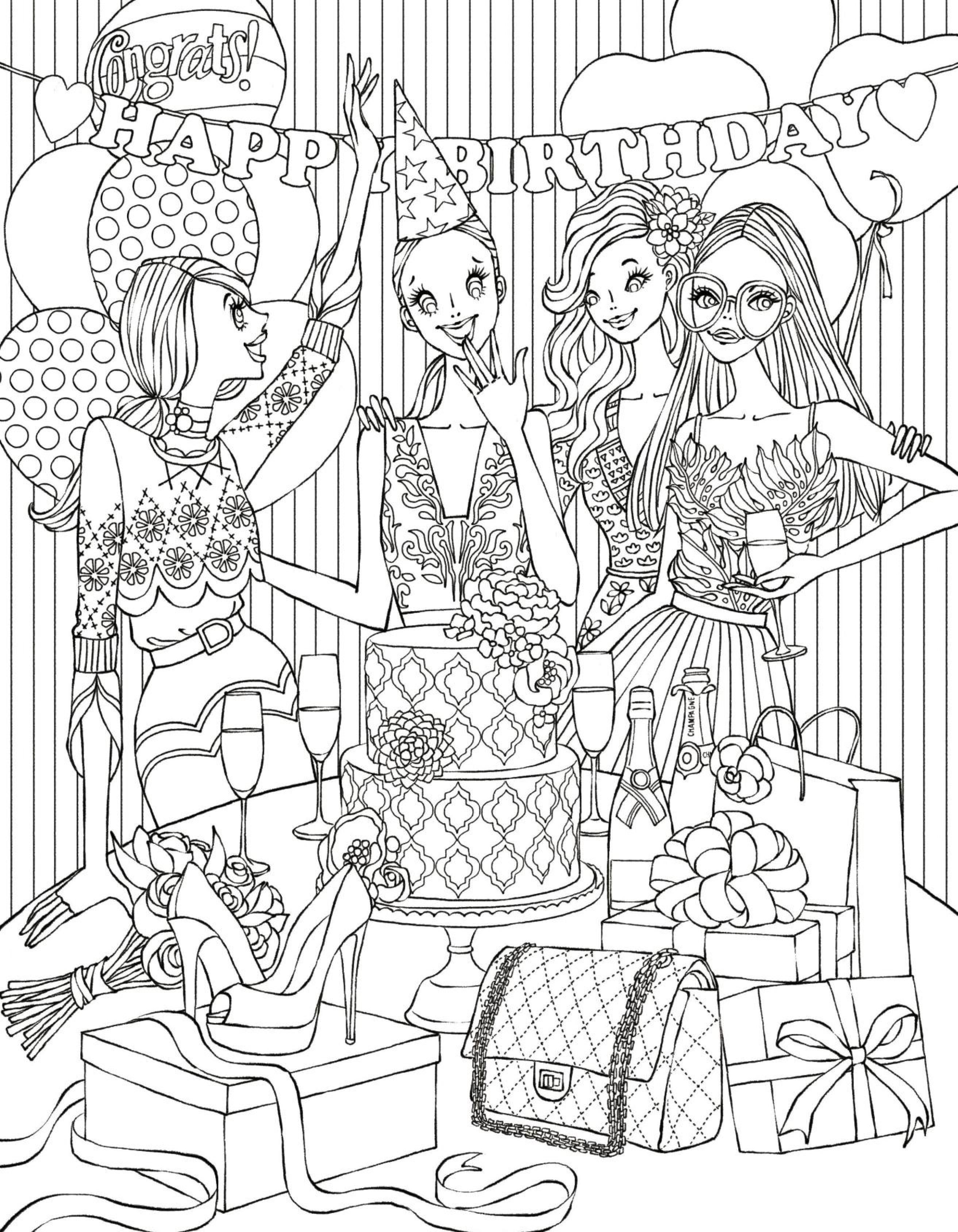 2625x3375 Printable Fashion Coloring Page Free Coloring Pages Download