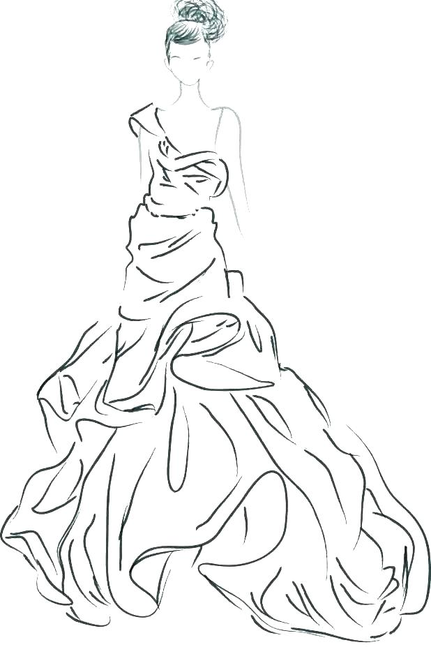618x927 Coloring Pages Fashion
