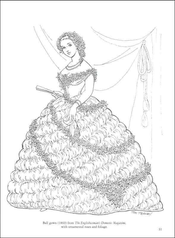 589x800 Fashion Coloring Book For Adults