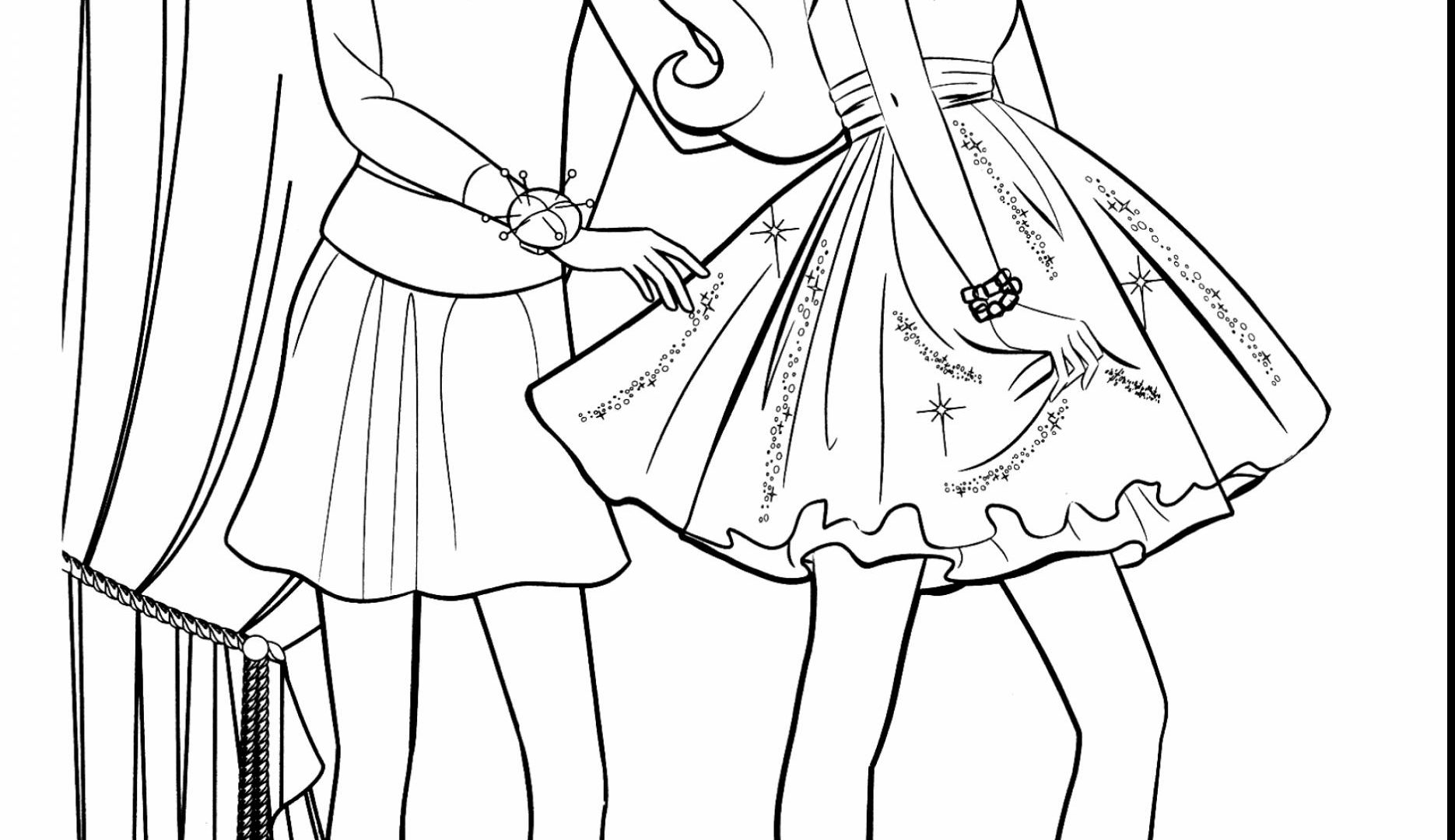 1870x1080 Fashion Clothing And Jewelry Coloring Pages For Adults Mode
