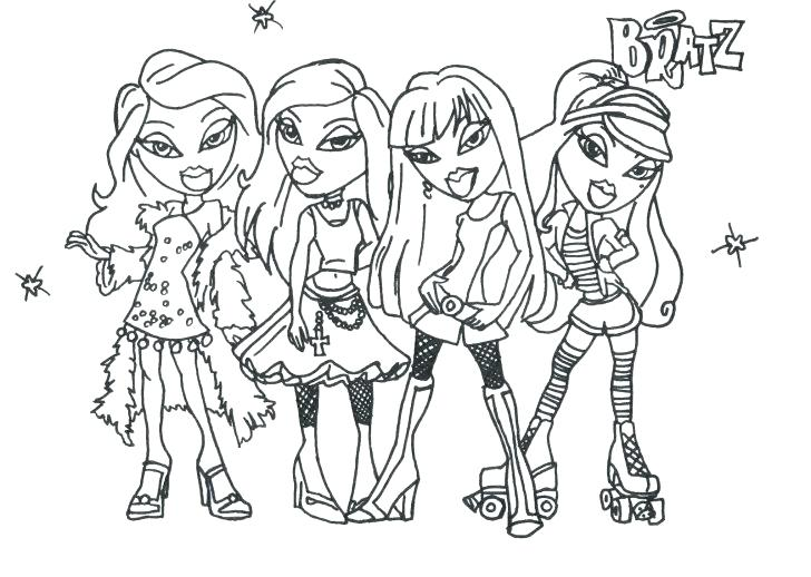 728x518 Fashion Coloring Pages Barbie Games Lovely Girl Image Fashion