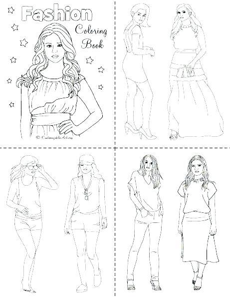 461x593 Fashion Coloring Sheets Fashion Coloring Book Plus Fashion