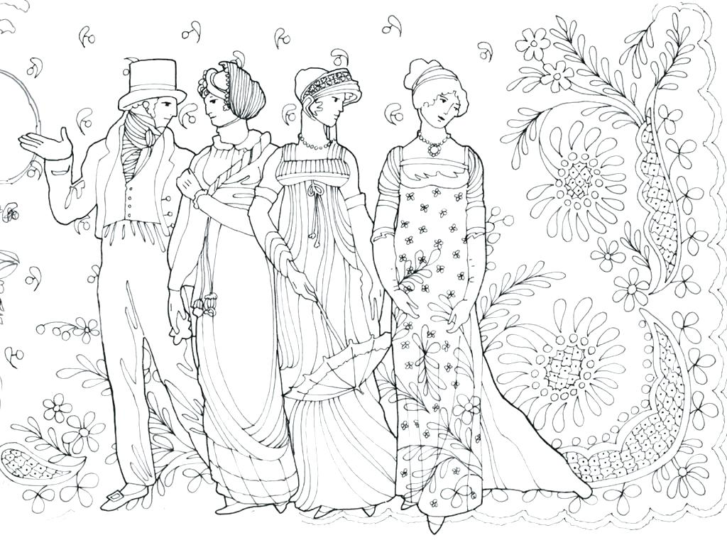 1024x761 Fashion Colouring Pages Printable Fashion Model Coloring Page