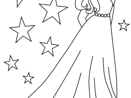 440x330 Girls Coloring Page, Coloring Pages For Teenage Girls Coloring