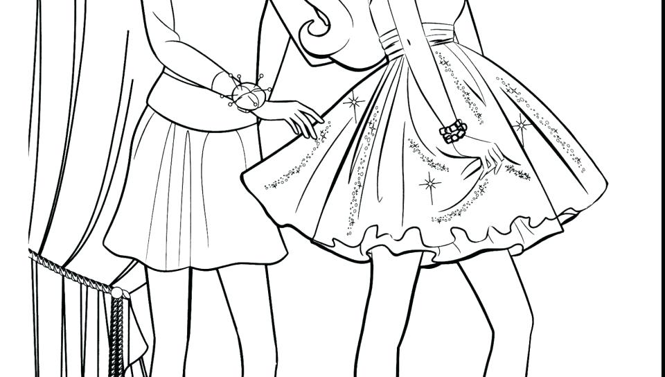 Fashion Coloring Pages For Girls Printable