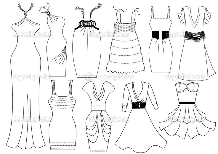 Fashion Coloring Pages For Girls Printable at GetDrawings