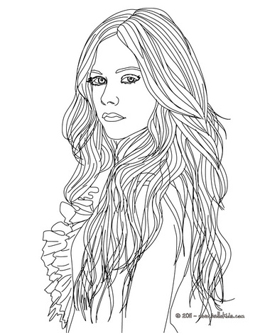 Fashion Girl Coloring Pages At Getdrawings Com Free For Personal