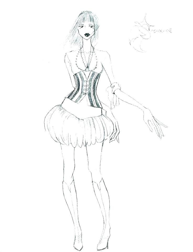 736x960 Fashion Coloring Pages To Print Coloring Pages Barbie Fashion