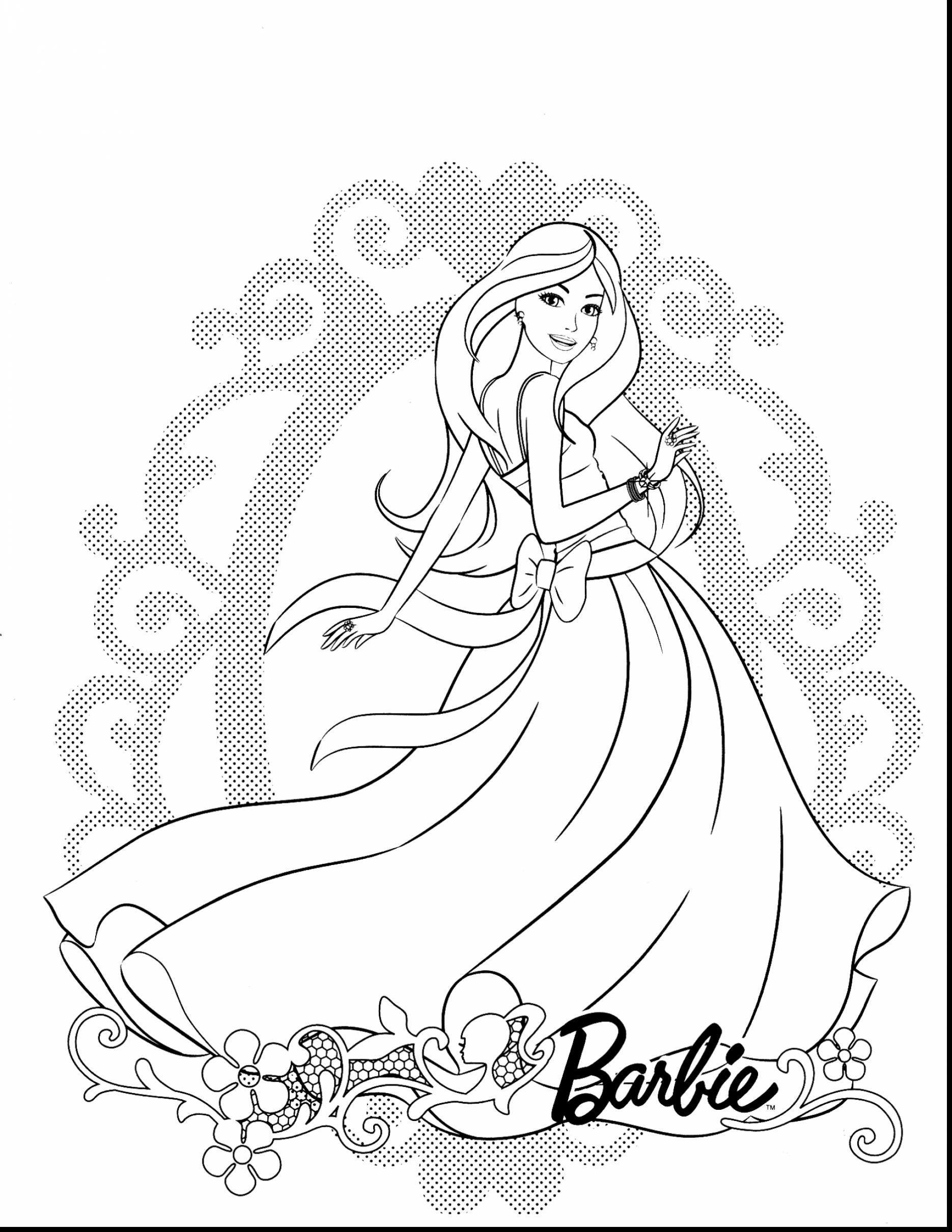 1870x2420 Barbie Clipart Colouring Page Fashion Picture Of Halloween