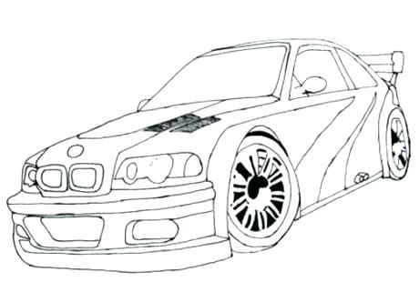 460x310 Fast Car Coloring Pages Fast Car Coloring Pages Fast And Furious