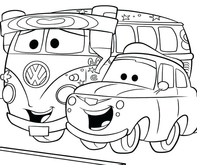Fast Car Coloring Pages
