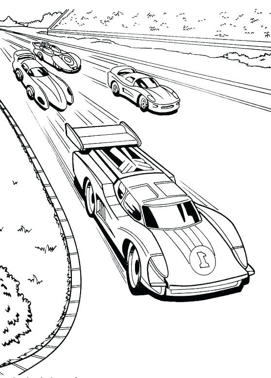 558x777 Fast Car Coloring Pages Car Coloring Pages Free Sports Fast