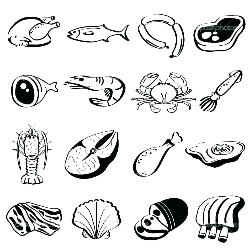 878x878 Fast Food Coloring Pages French Fries Coloring Page French Fries