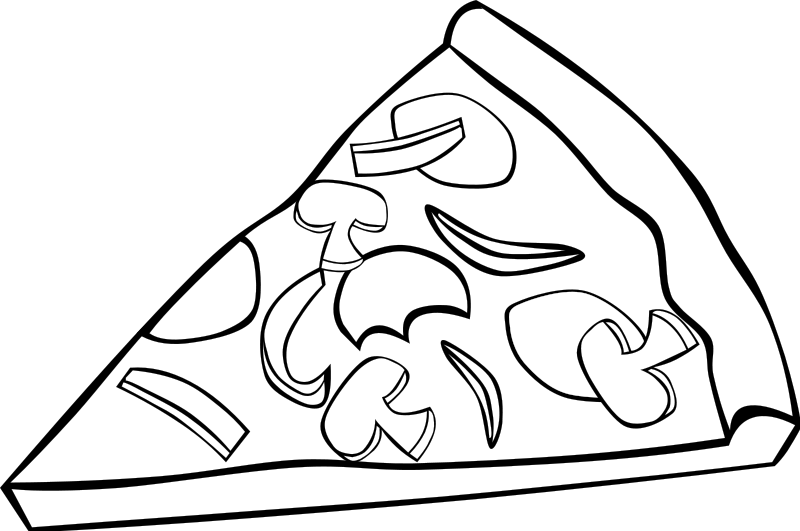 800x531 Fast Food Coloring Pages
