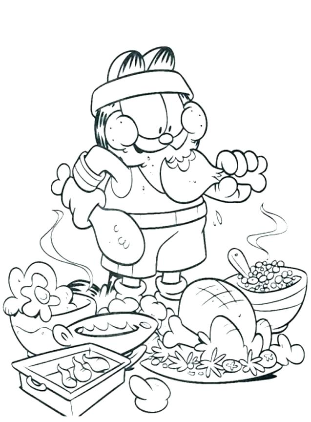637x864 Food Coloring Pages For Preschoolers Coloring Pages Of Food Fast