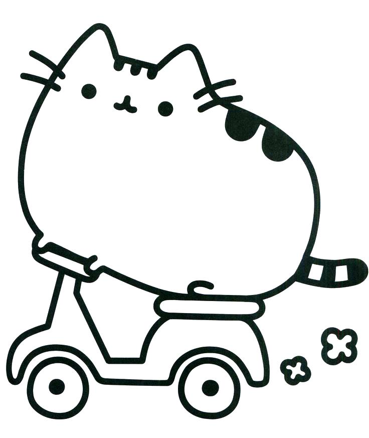 736x873 Cats Coloring Pages And Kitten Grumpy Cat Printable