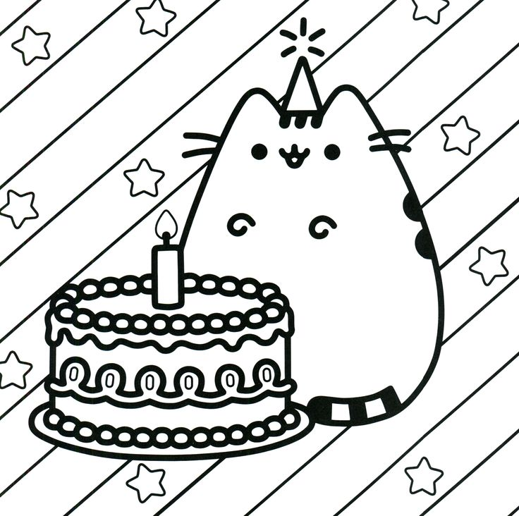 736x732 Best Pusheen Coloring Book Images On Coloring Books