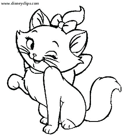 444x472 Kitten Coloring Page Cute Kitten Coloring Pages Printable Kitten
