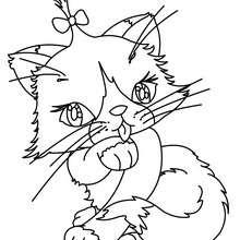 220x220 Big Fat Cat Coloring Pages