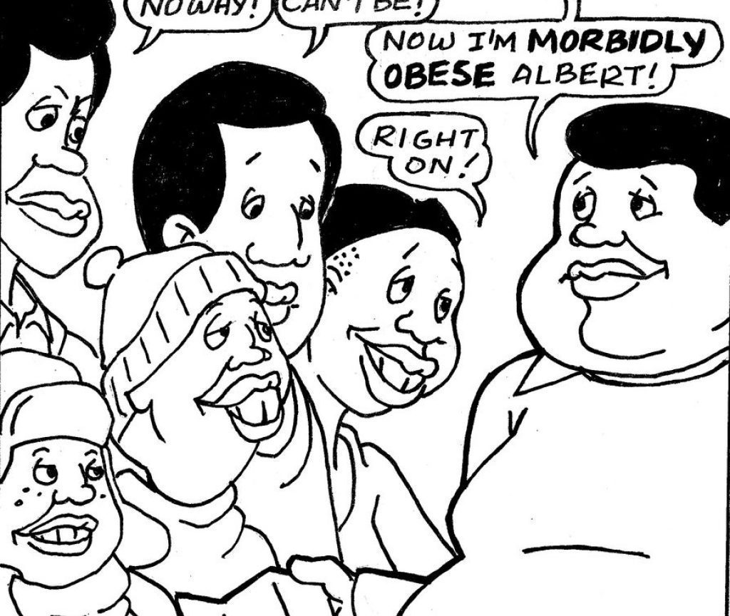 1024x864 Fat Albert Coloring Pages