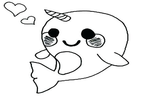 476x333 Narwhal Coloring Page Narwhal Coloring Pages Printable Coloring