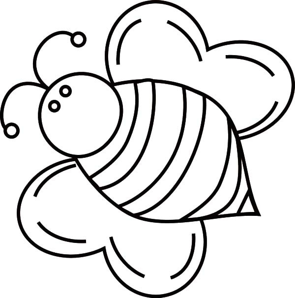 600x606 Bumble Bee Coloring Pages Fat Bumble Bee Coloring Pages Best Place