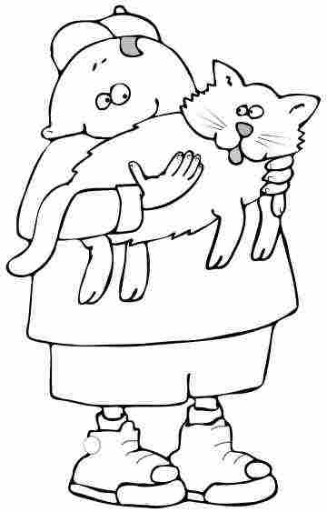 360x563 Cat Coloring Pages From Kittens To Big Cats, Small Cats And Fat Cats
