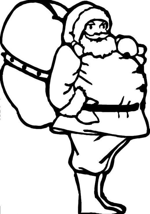 Fat People Coloring Pages
