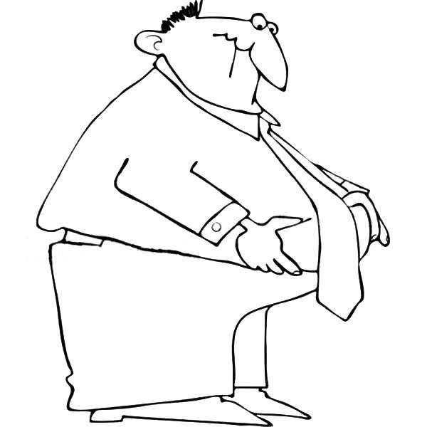 600x600 Fat Business Man Coloring Pages Best Place To Color