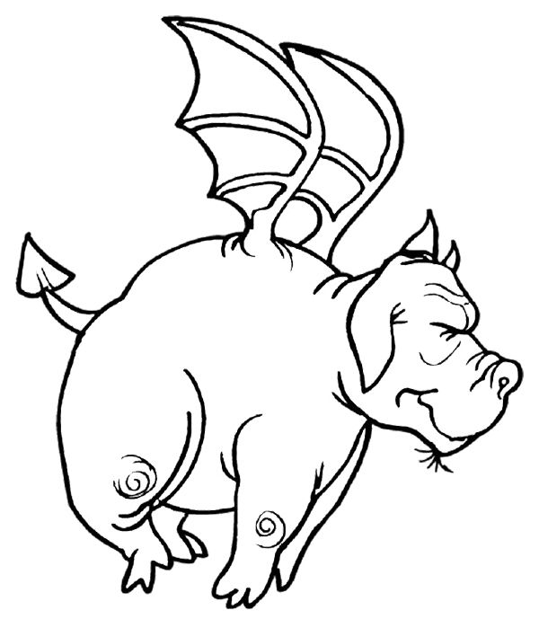 600x709 Fat Dragon Coloring Page Coloring Dragons And Craft
