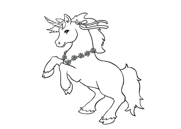 700x500 Cute Unicorn Coloring Pages Fat Unicorn Colors Unicorns Color