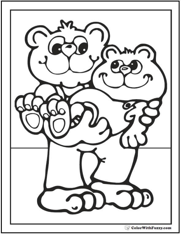 Father And Son Coloring Pages
