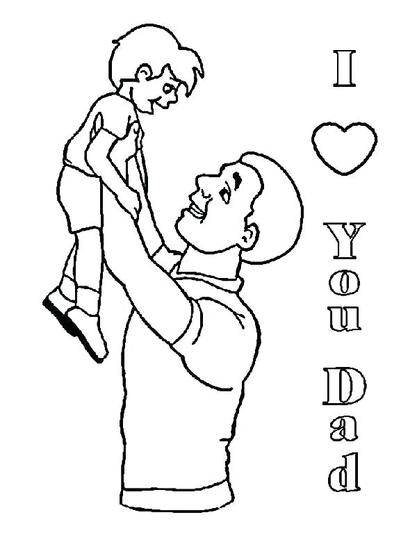 600x800 Father Coloring Pages Father And Son Coloring Pages Father