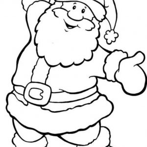 300x300 Coloring Pictures Of Father Christmas Best Of Father Christmas