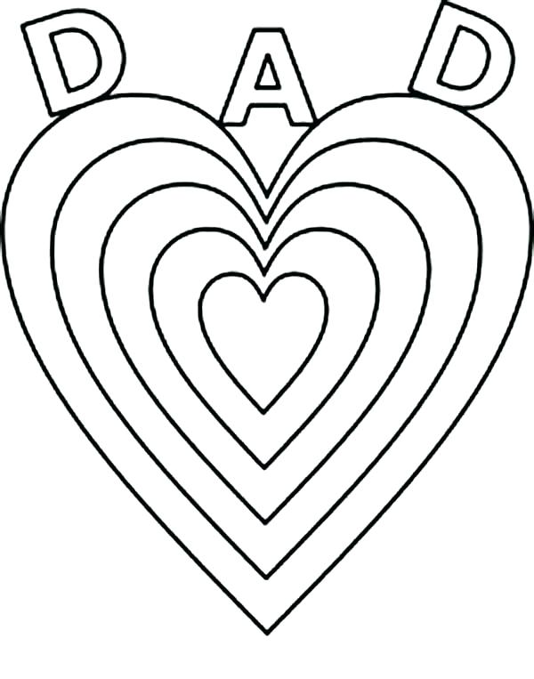 600x763 Free Printable Happy Fathers Day Coloring Pages Fathers Day