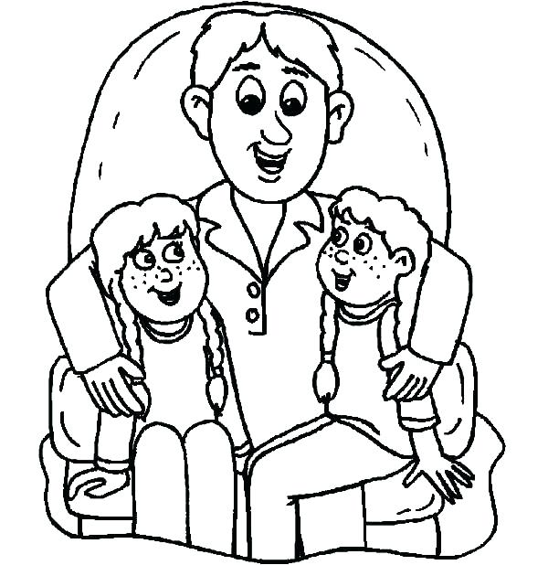 600x618 God Our Father Coloring Pages Father Coloring Page Fathers Day