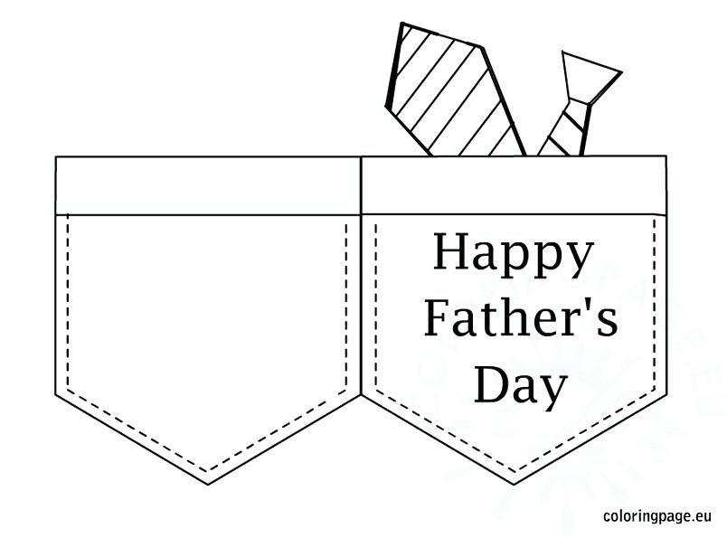 804x595 Fathers Day Card Coloring Pages Fathers Day Card Colouring Pages