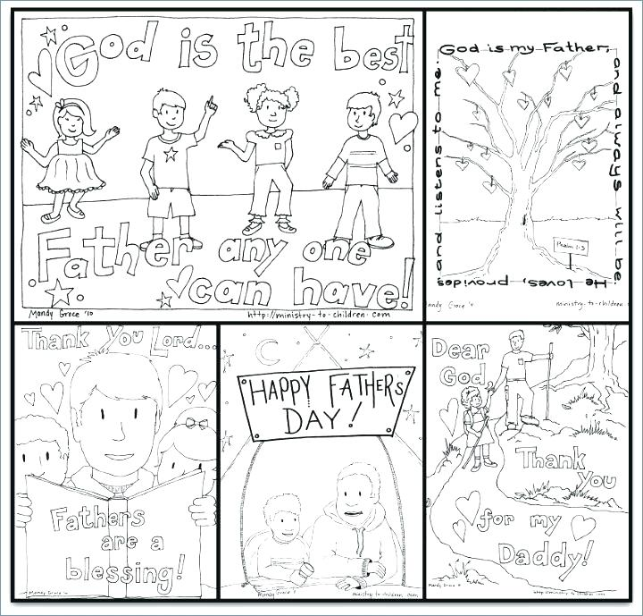 720x689 Fathers Day Coloring Cards S S Fathers Day Card Coloring Pages