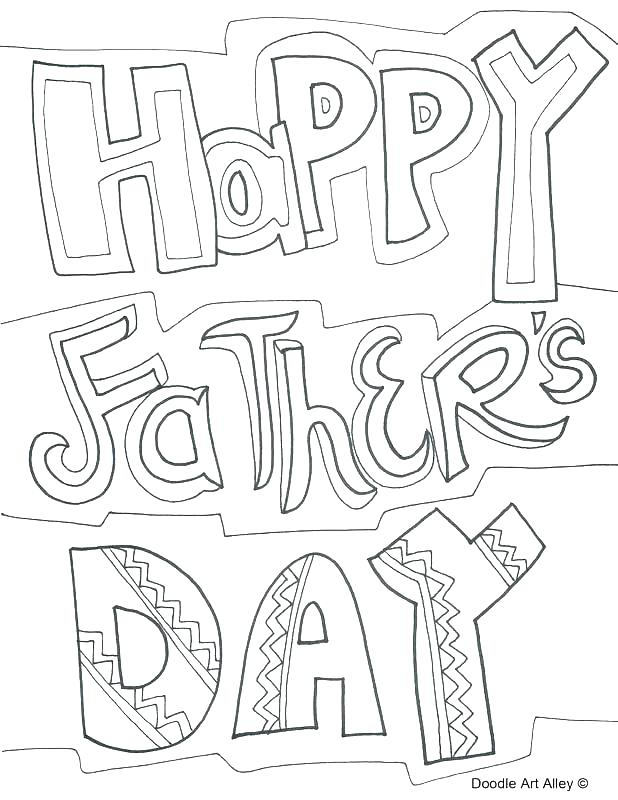 618x800 Happy Fathers Day Coloring Pages Free Printable Happy Fathers Day