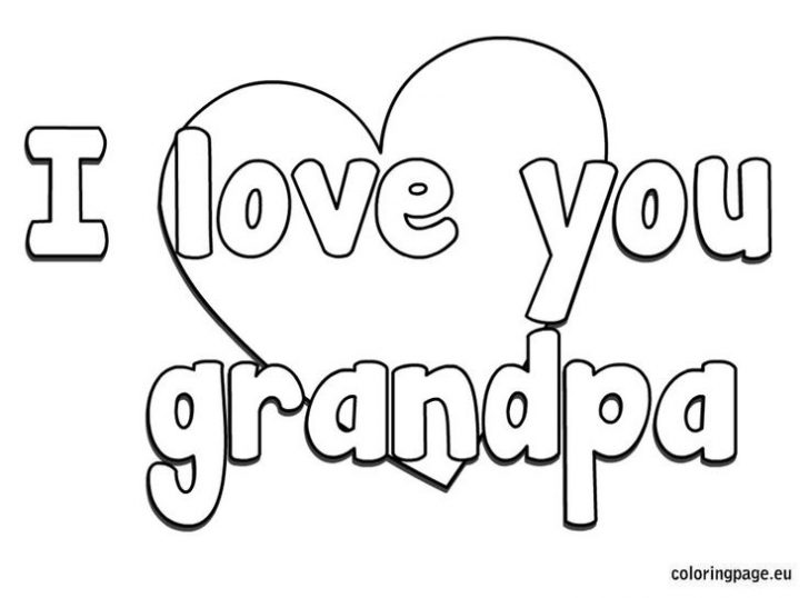 728x538 Fathers Day Coloring Pages For Grandpa Raovattoanquoc