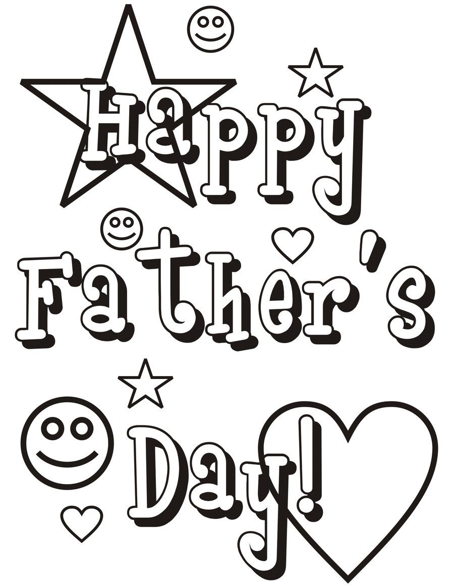 900x1165 Fathers Day Coloring Pages For Grandpa Father's Day Wishes